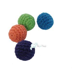 091f80ece1cd1 Bolas de crochê para Furão