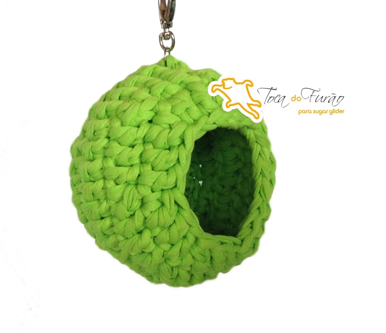 22e9cad742236 Bola color de crochê sugar glider – Toca do Furão