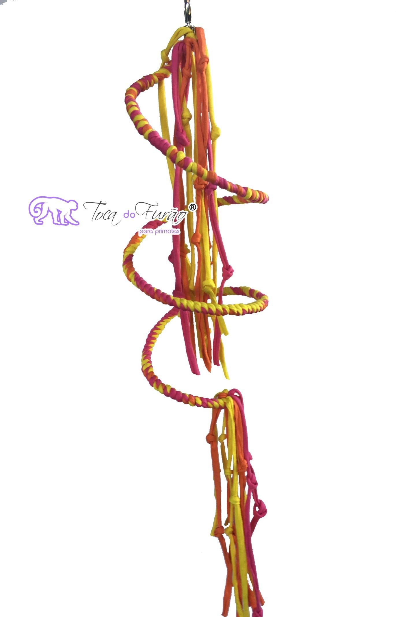 164e64e777db0 Espiral de malha para sagui – Toca do Furão