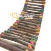 ponte.rustica.com.pingos.de.cor.toca.do.furo.2